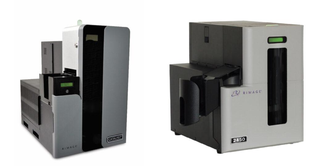 JP2021印刷DX展_新製品の光ディスク自動パブリッシング装置